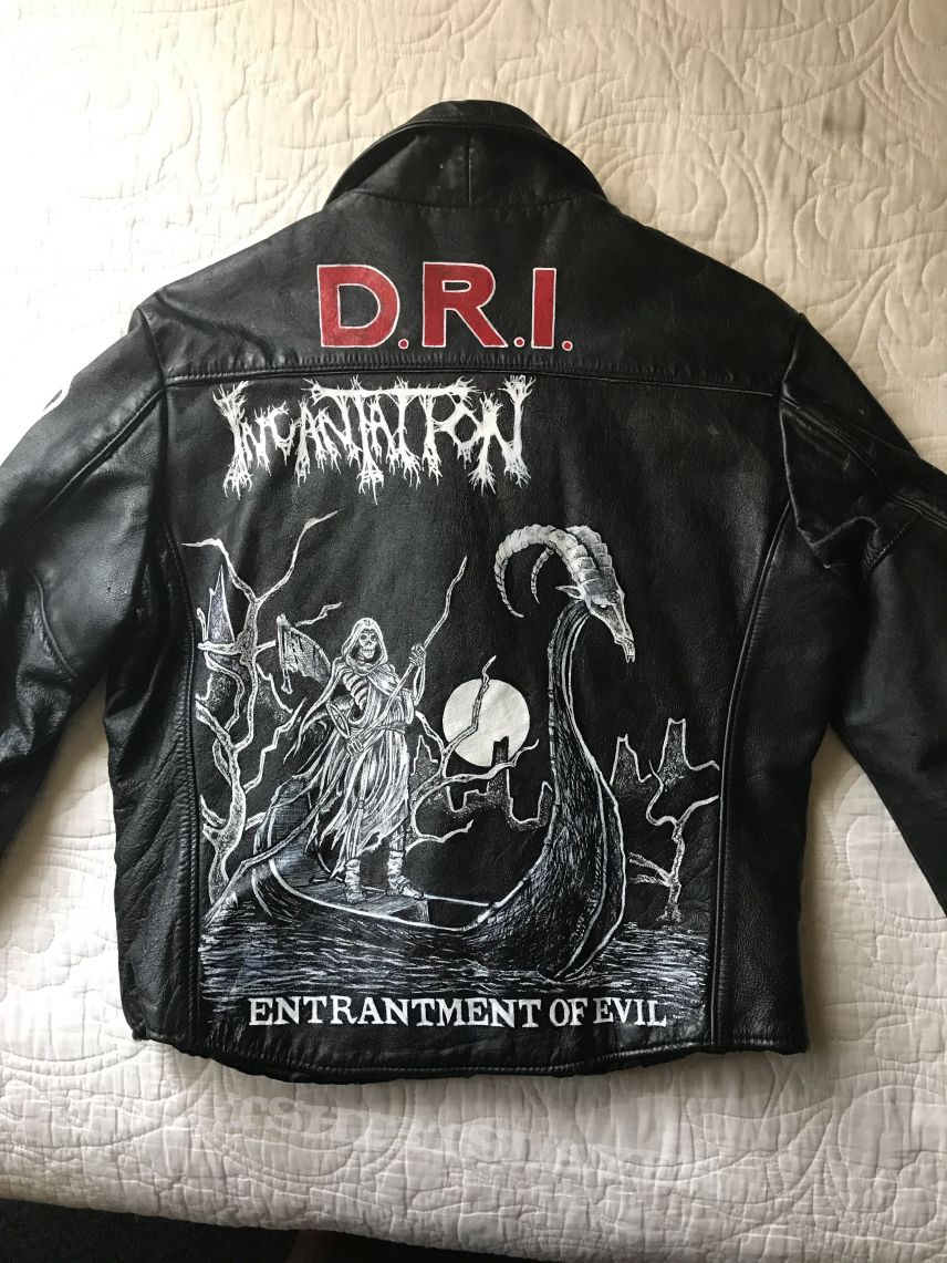 Battle Jacket (punk and metal) Hand painted