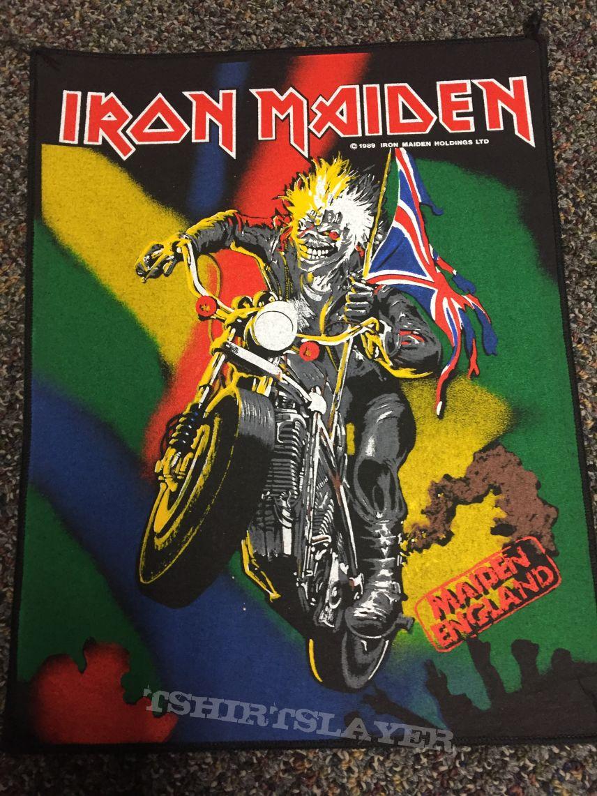 Iron Maiden Maiden England BP Official
