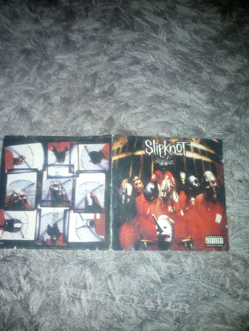 Slipknot self titled signed album booklet