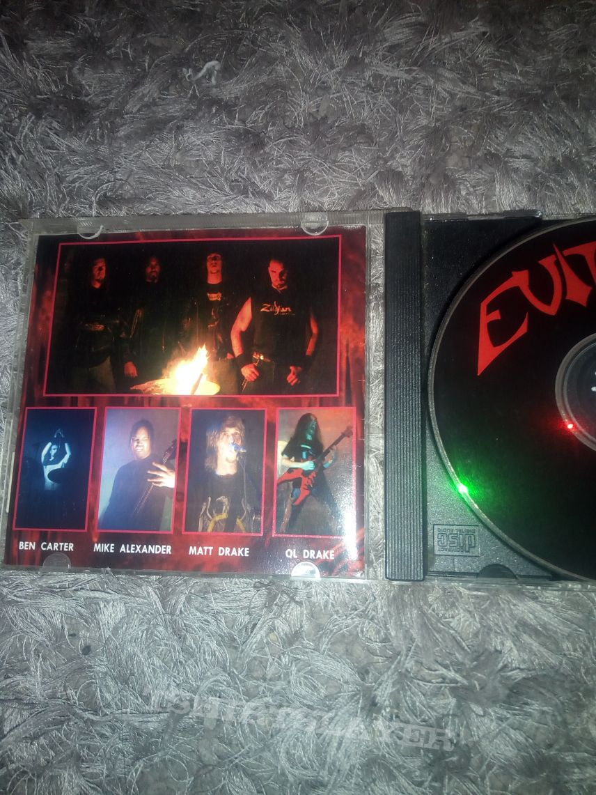 Evile hell demo signed RARE
