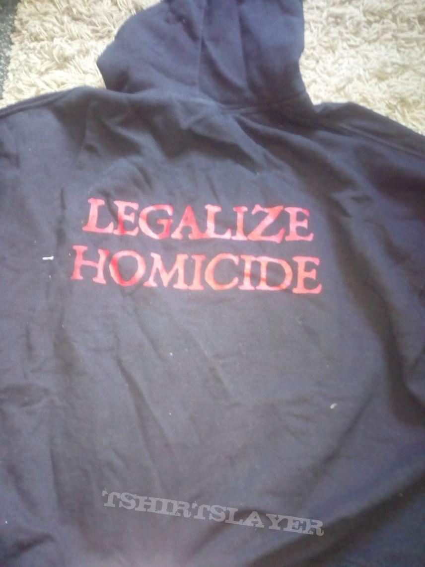Devourment legalize homicide hoodie XL