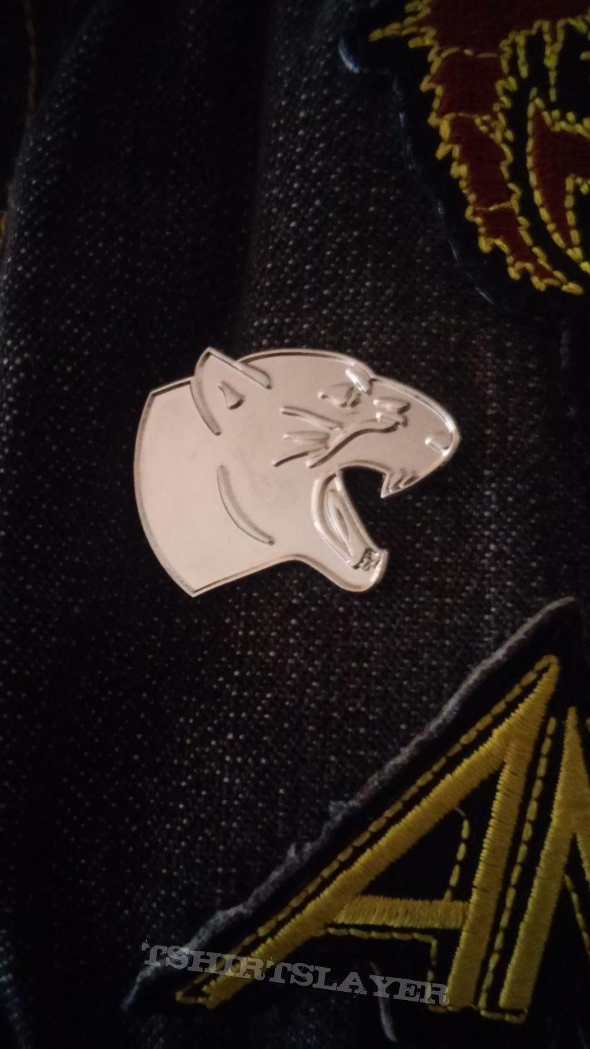 Code Orange Panther Pin