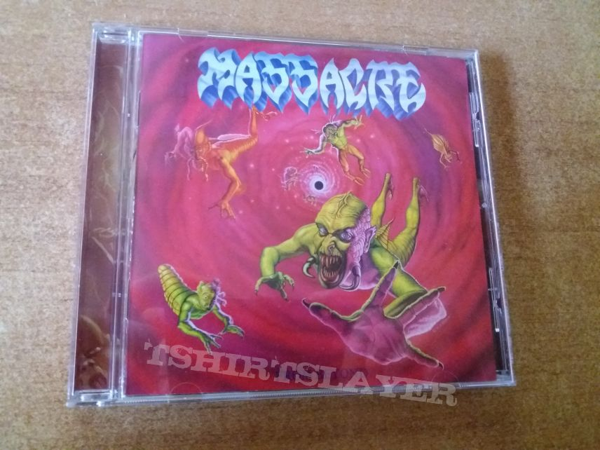 Massacre- From Beyond+Inhuman Condition EP 2016 Repress