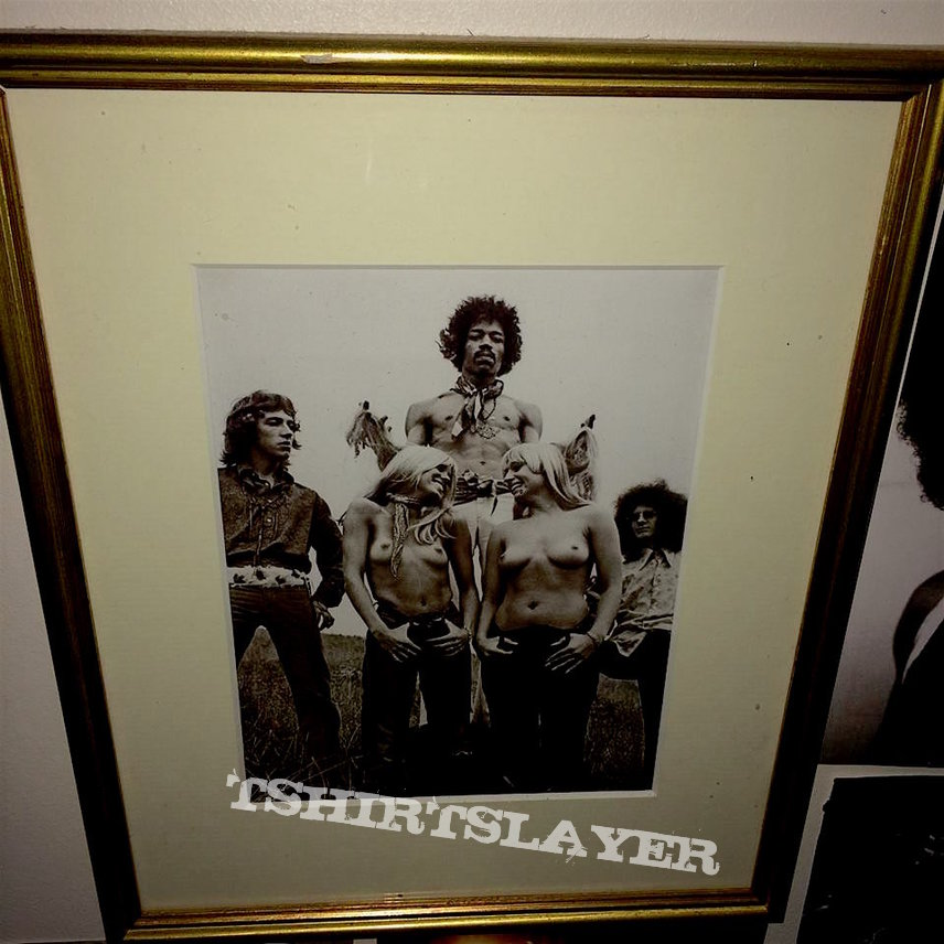 Jimi Hendrix Framed Picture