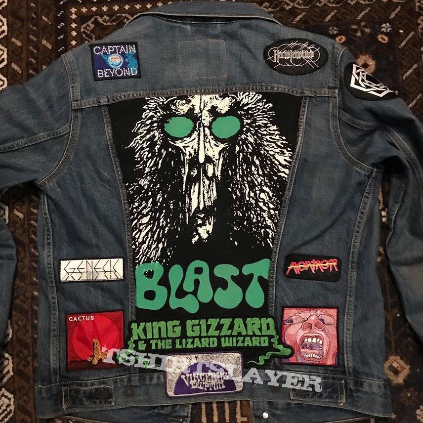 Psychedelic/Progressive/Hard Rock Battle Jacket in progress