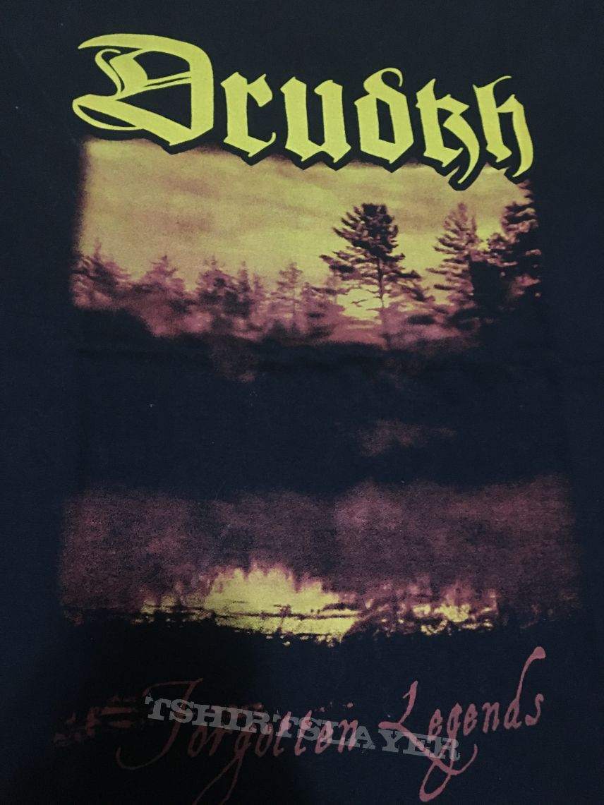 Drudkh 'Forgotten Legends' shirt bought at Grifo Camisetas