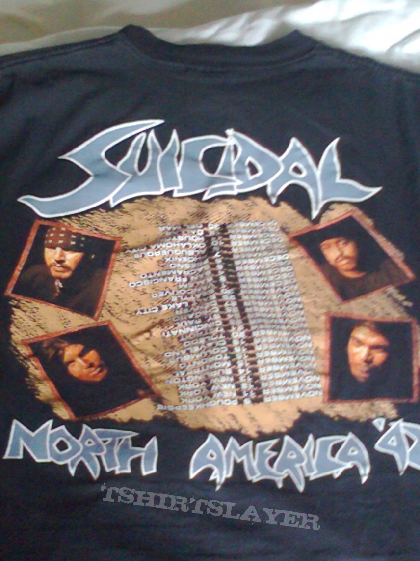 Suicidal tendencies art of rebellion north america 92 tour shirt suicidal tendencies art of rebellion north america 92 tour shirt thecheapjerseys Choice Image
