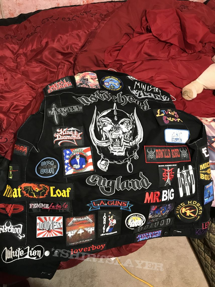 3rd battle jacket Completed
