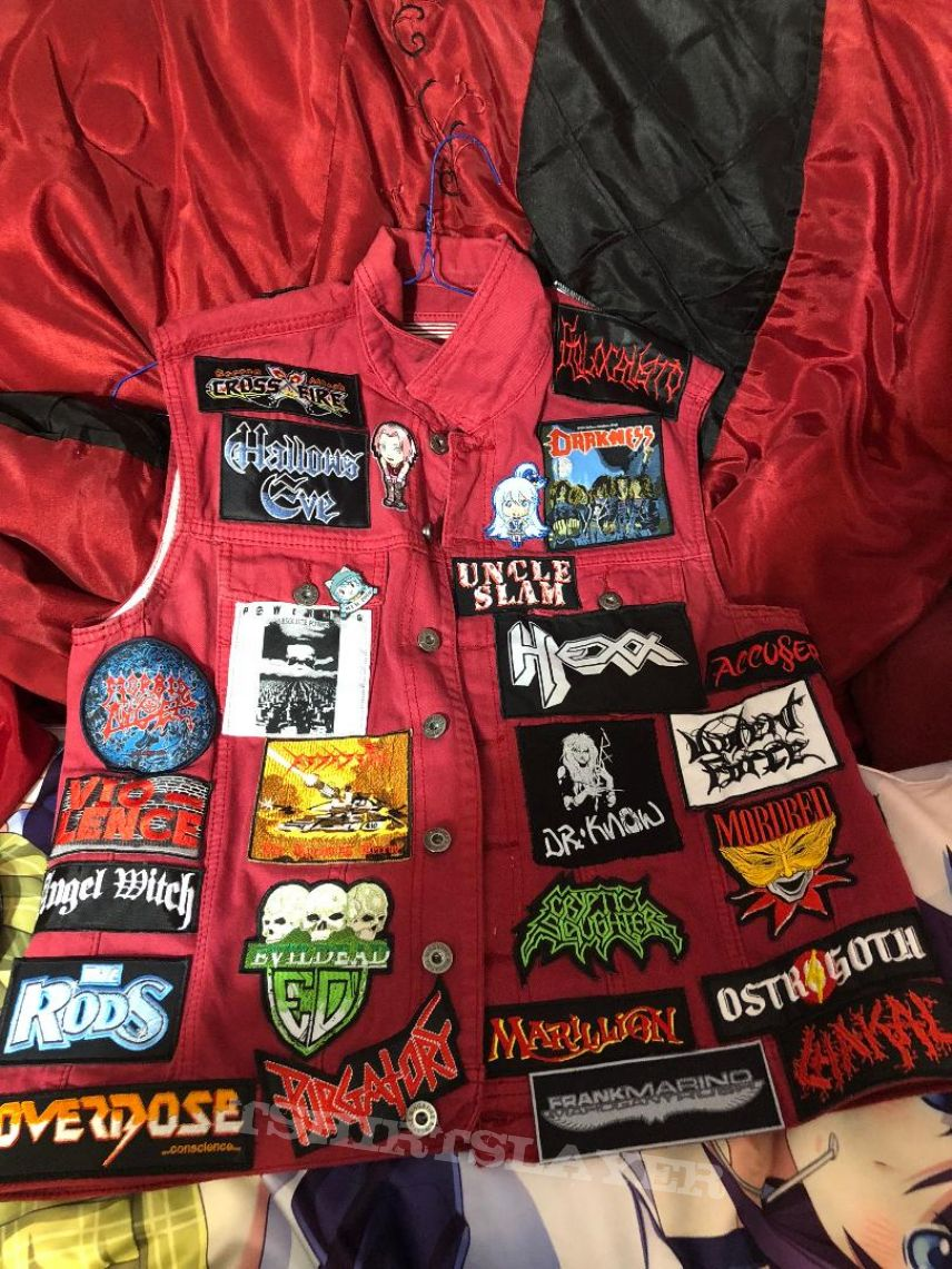 My 6th battle jacket Completed
