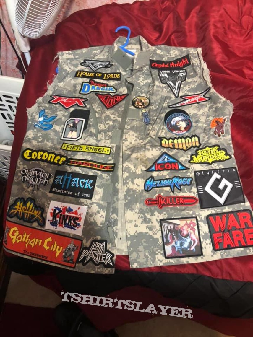 7th Battle Jacket Done
