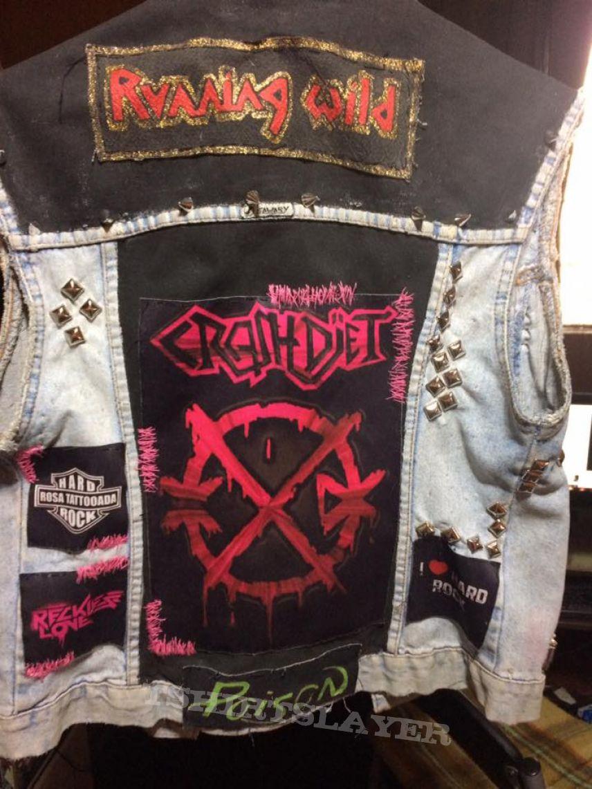 My girlfriend's battle jacket