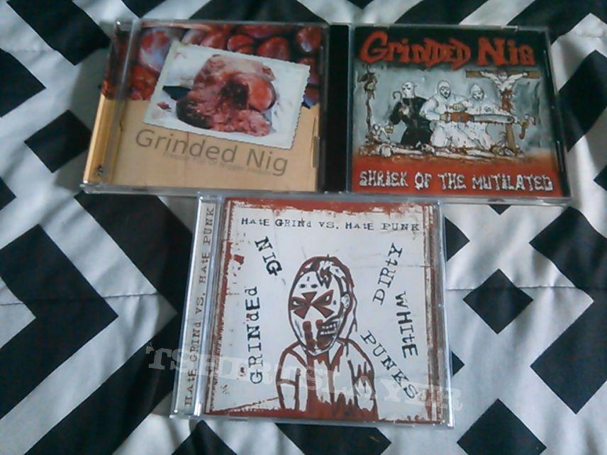 Grinded Nig CDs