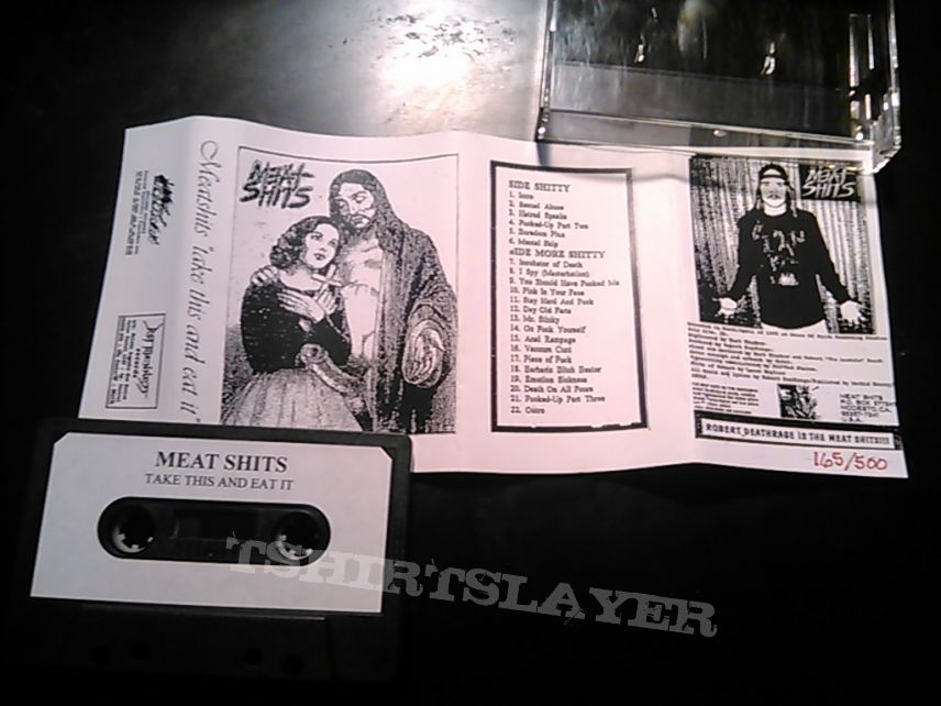 Meat Shits EPs on cassette