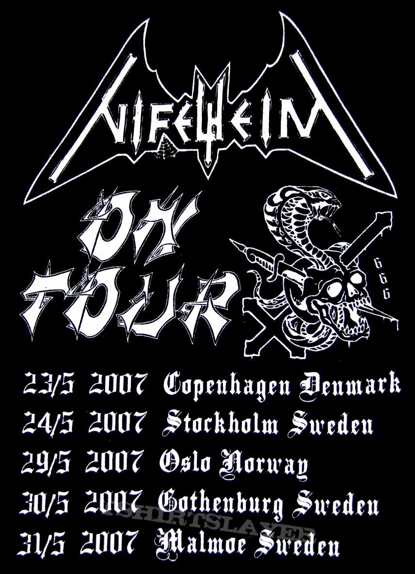 Nifelheim - Scandinavian Tour Shirt