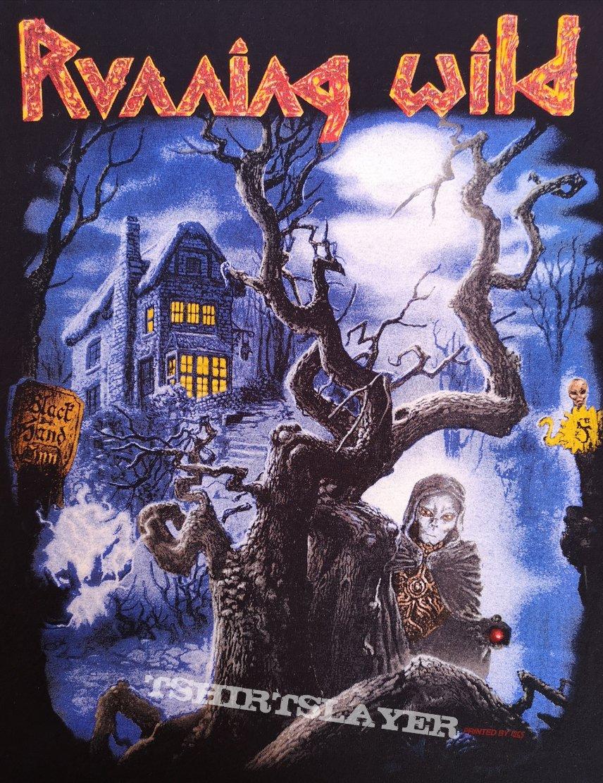 Running Wild - Black Hand Inn Tour Shirt