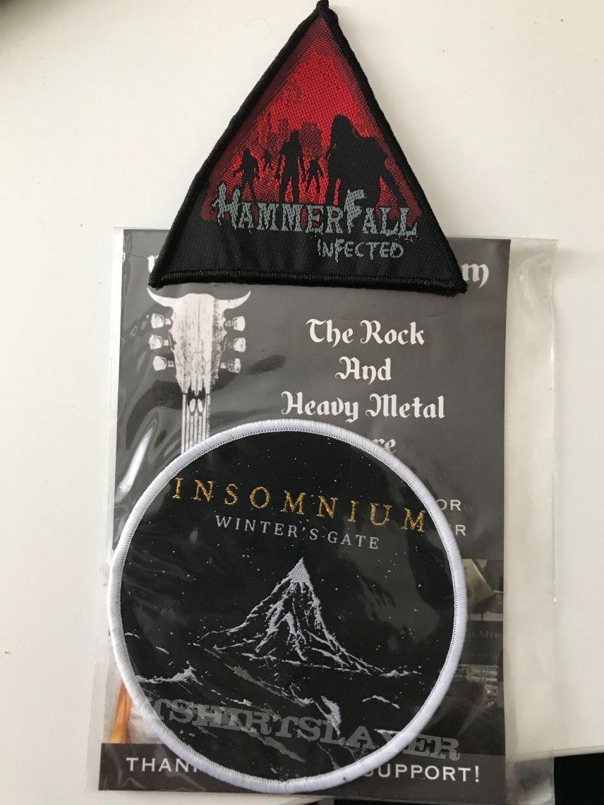 Hammerfall & Insomnium Patch