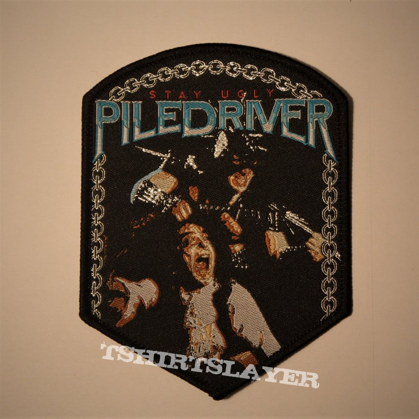 Piledriver - Stay Ugly woven patch