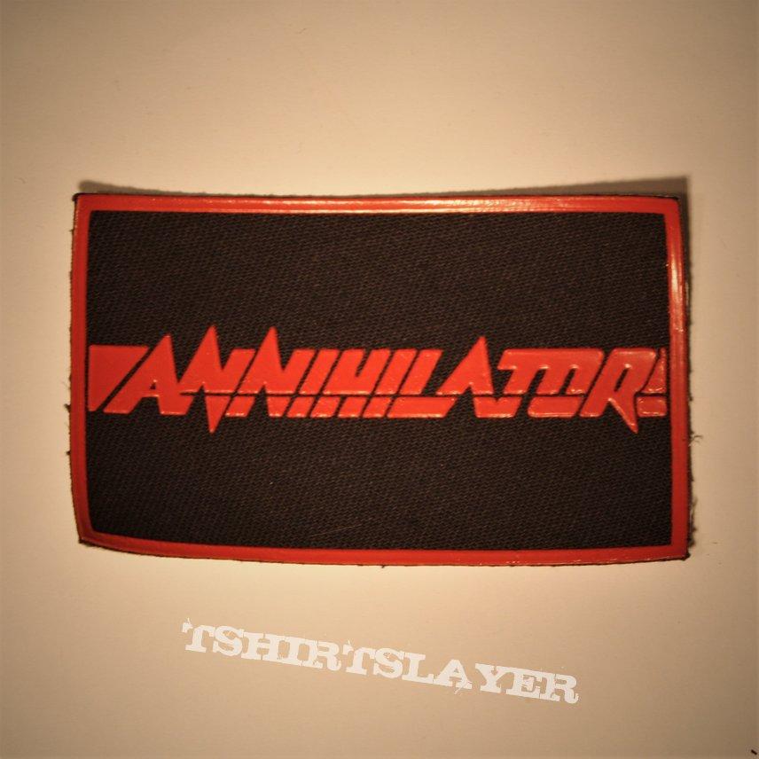 Annihilator - Logo rubber patch