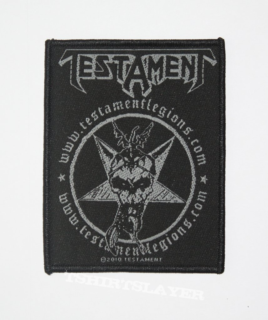 Testament - Legions woven patch