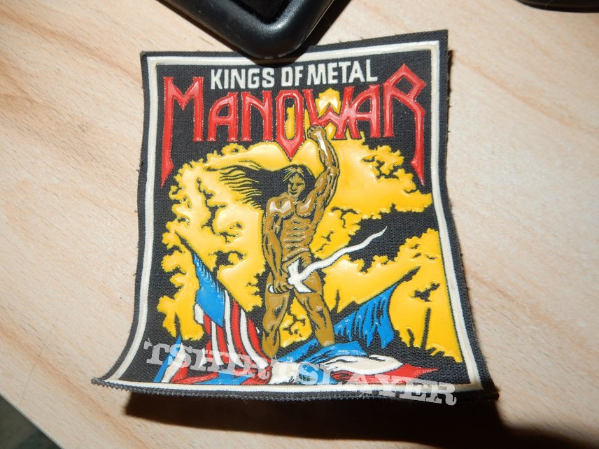 Manowar - Kings of Metal Rubber patch