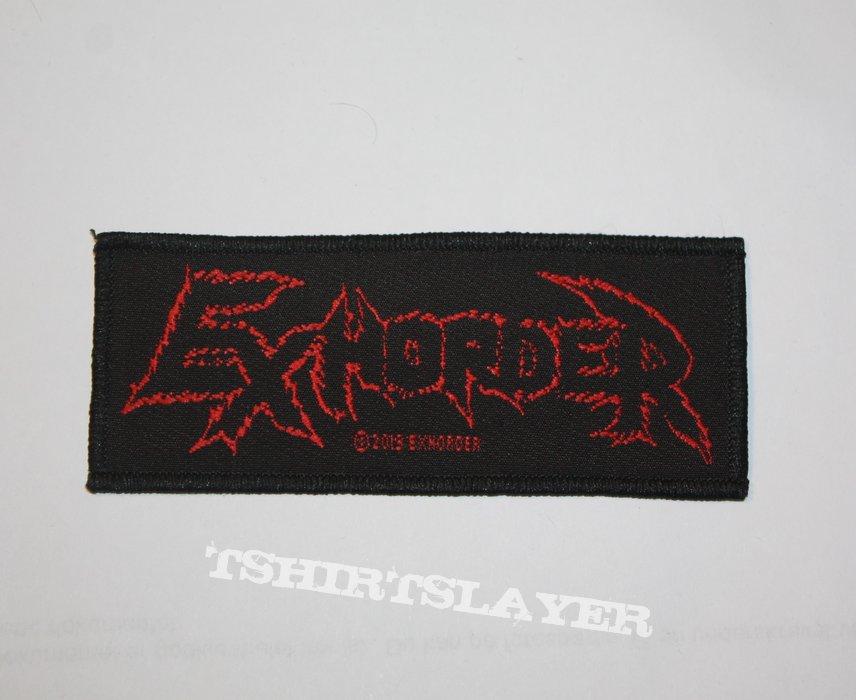 Exhorder - Mini Strip logo woven patch