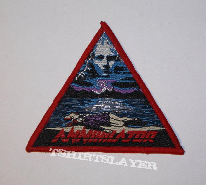 Annihilator - Never, Neverland Woven patch