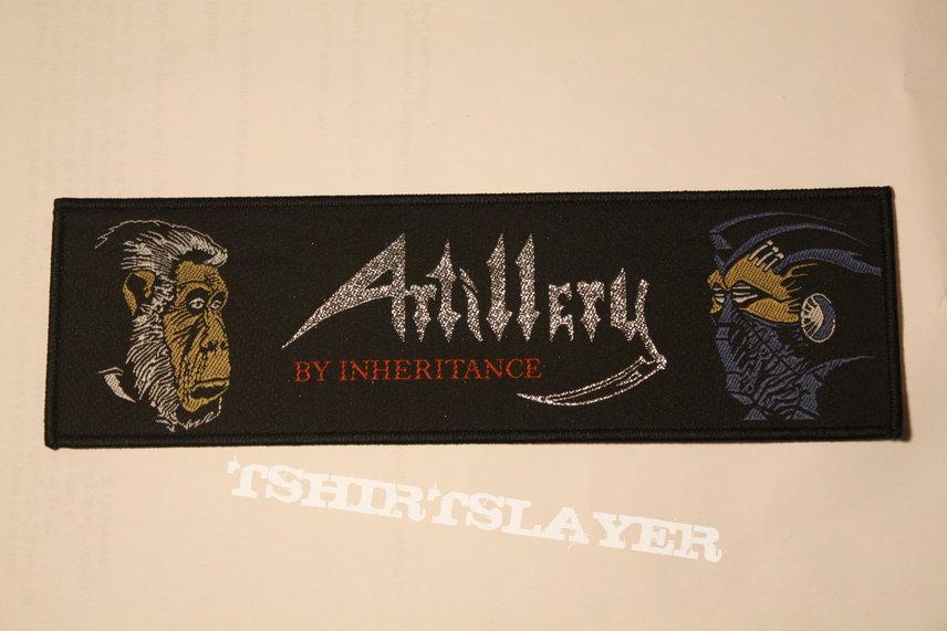 Artillery - By Inheritance Woven superstrip patch