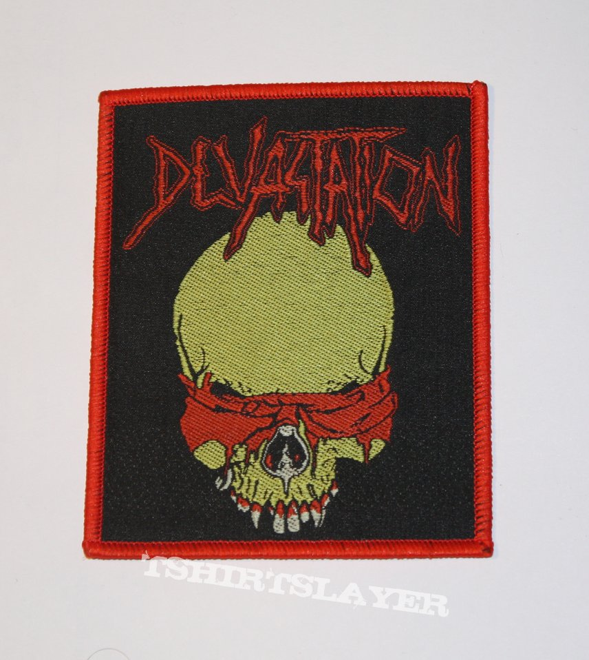 Devastation - Idolatry Woven patch