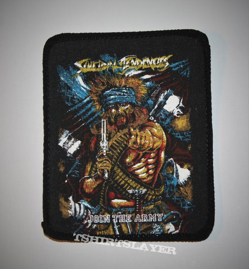 Suicidal Tendencies - Join the Army Printed patch