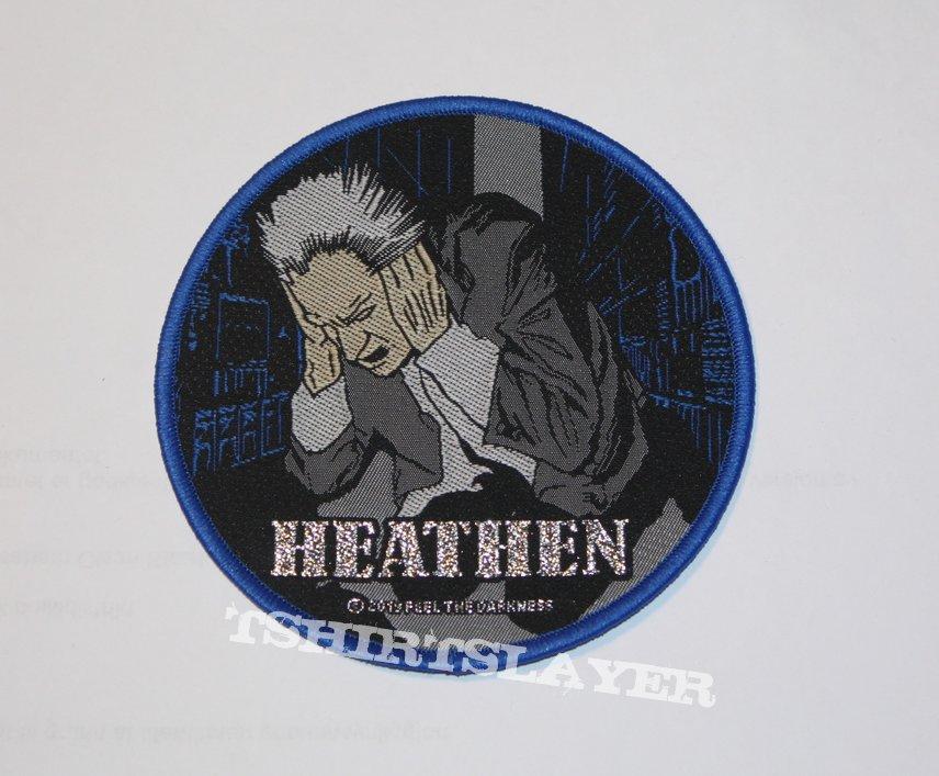 Heathen - Breaking the Silence Woven patch
