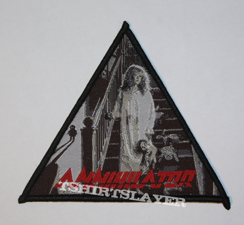 Annihilator - Alice in Hell Woven patch