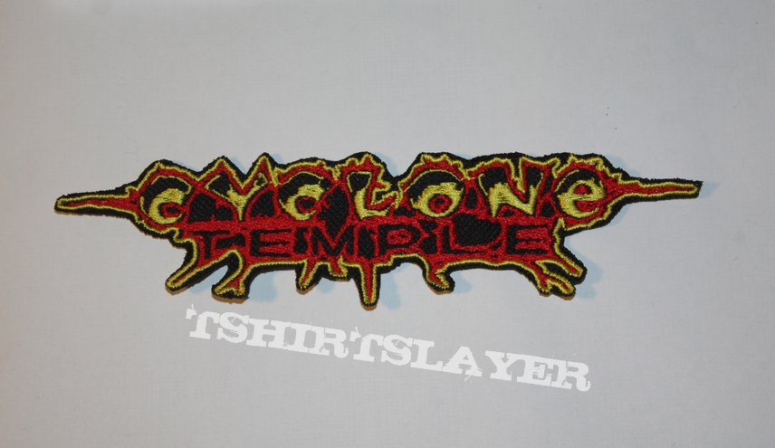 Cyclone Temple - Embroidered logo patch