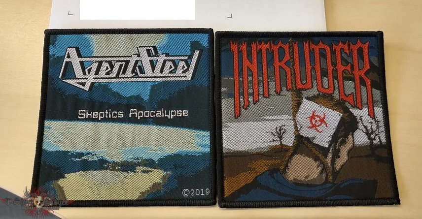 Intruder and Agent Steel Patch