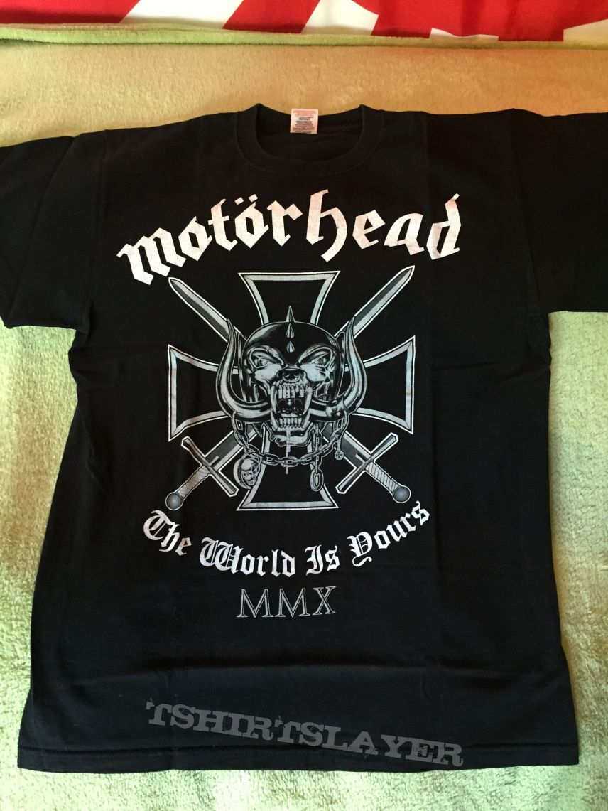 Motörhead - The world is yours Tour - M