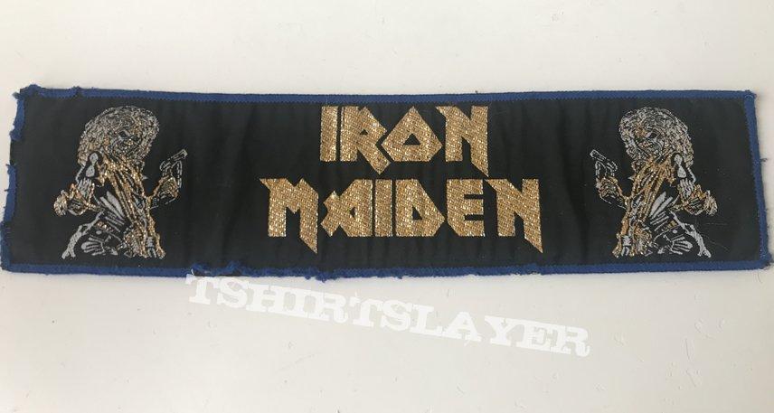 "Iron Maiden ""Killers"" Golden logo superstripe"