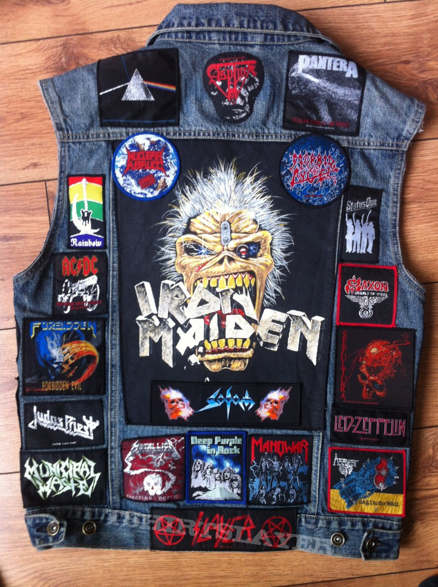 Updated Battlejacket! Ready for BOLTFEST!!!!