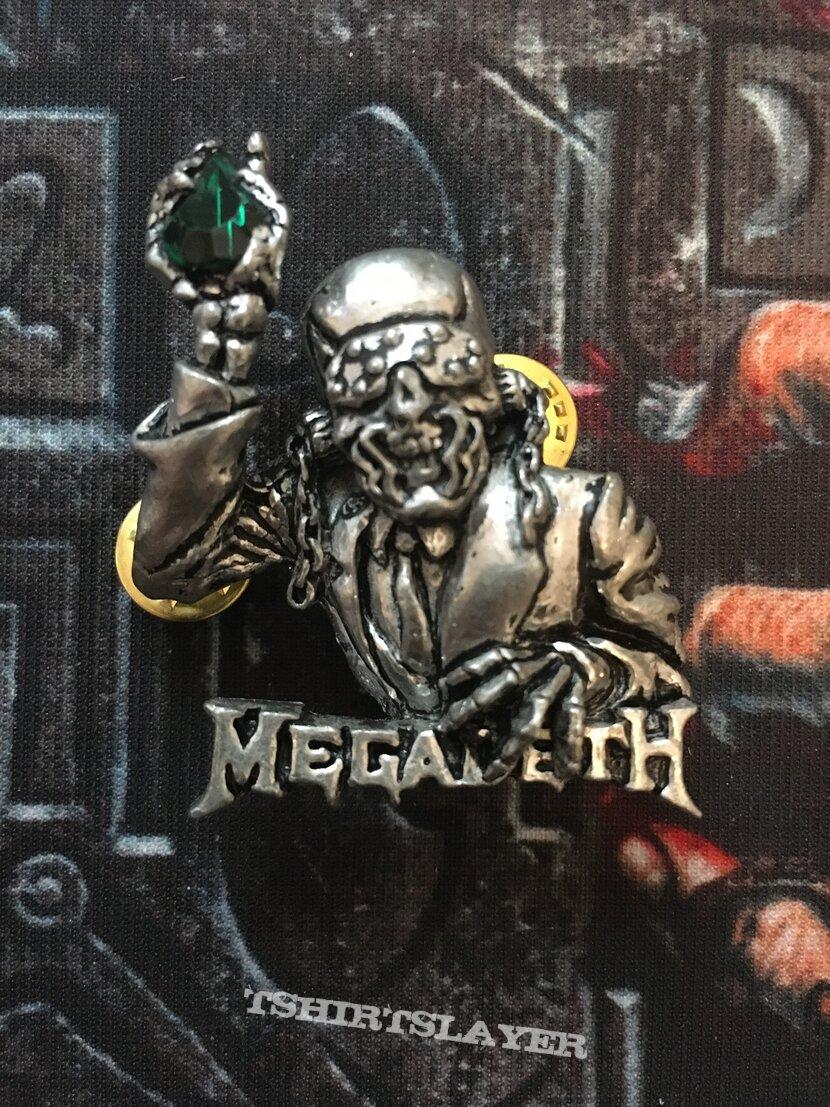 Megadeth Metal Badge
