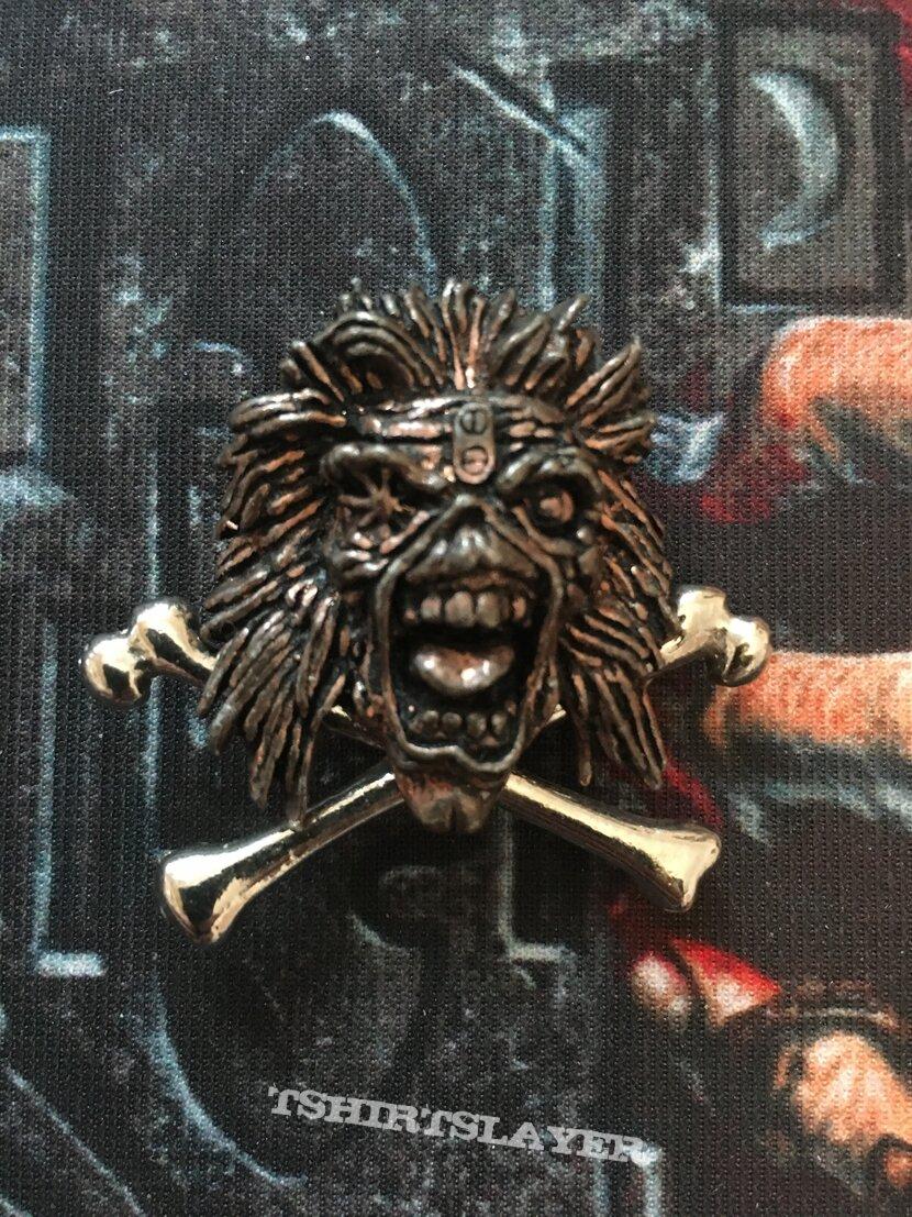 Iron Maiden Metal Badge