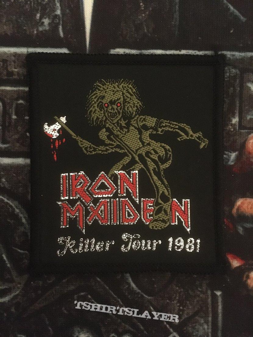 Iron Maiden - Killer Tour 1981 vintage Patch