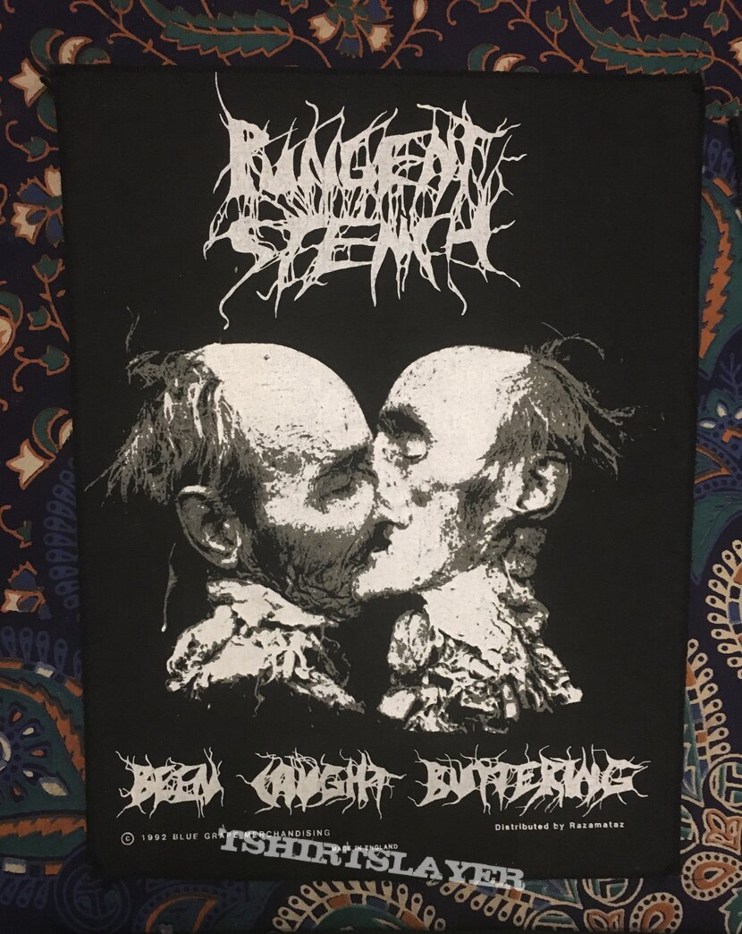 Pungent Stench - Been Caught Buttering Backpatch