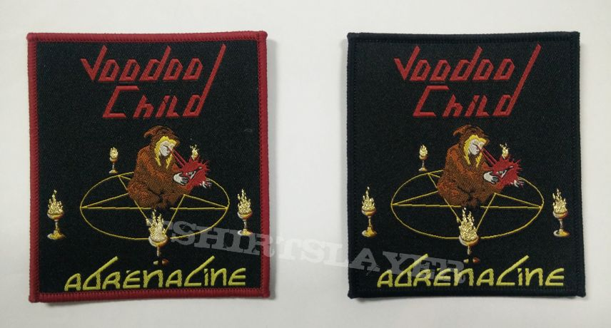 Voodoo Child - Adrénaline official woven patch