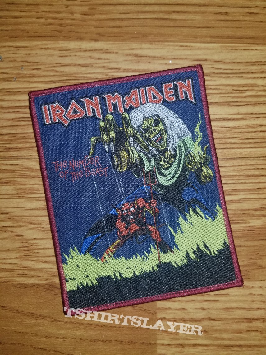 "Iron Maiden ""the number of the beast"""