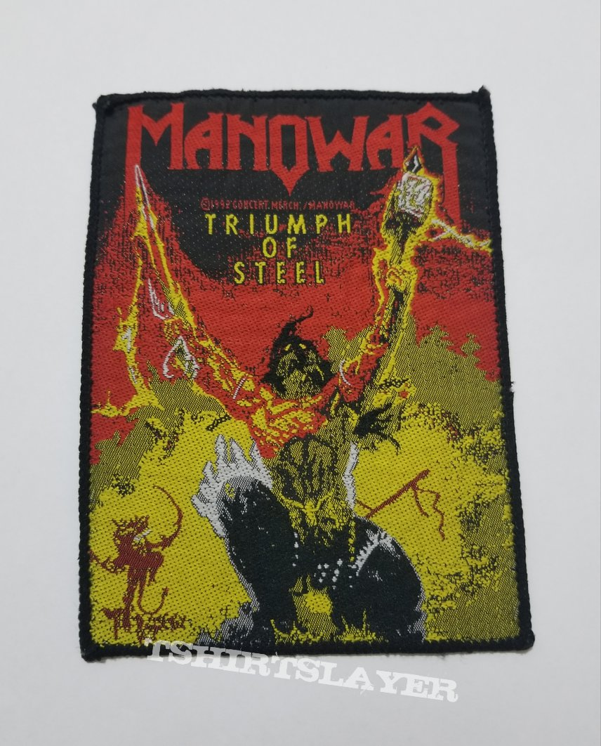 Vintage MANOWAR Triumph of Steel ©1992 Concert Merch