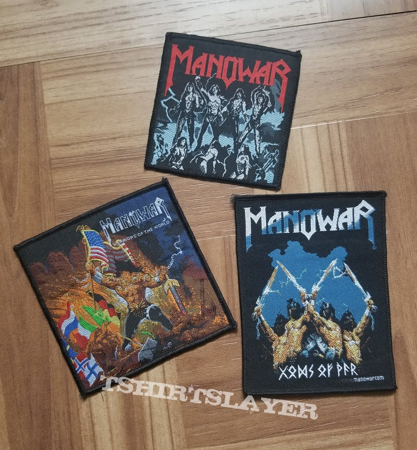 Original Manowar Patches