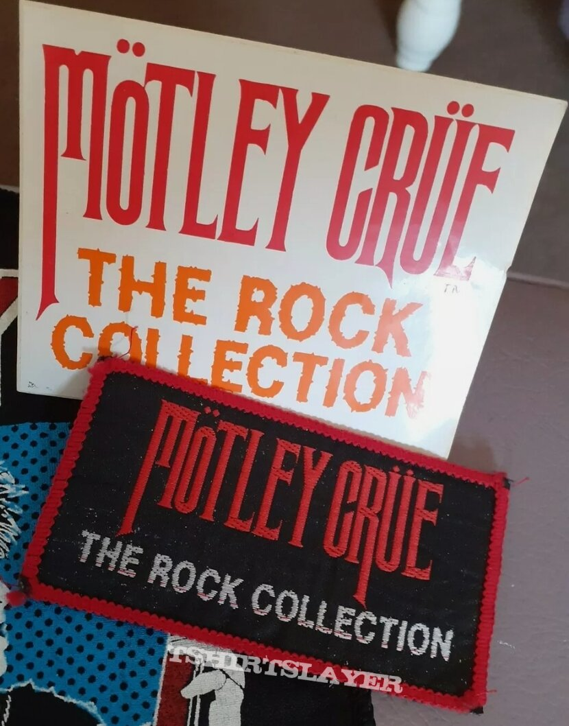 Vtg Mötley Crüe 'The Rock Collection'