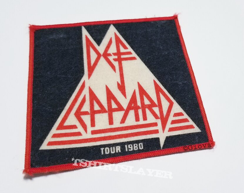 Vtg Def Leppard 'On Through The Night Tour 1980