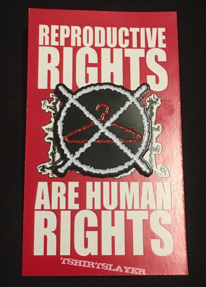 Napalm Death Human Rights pin