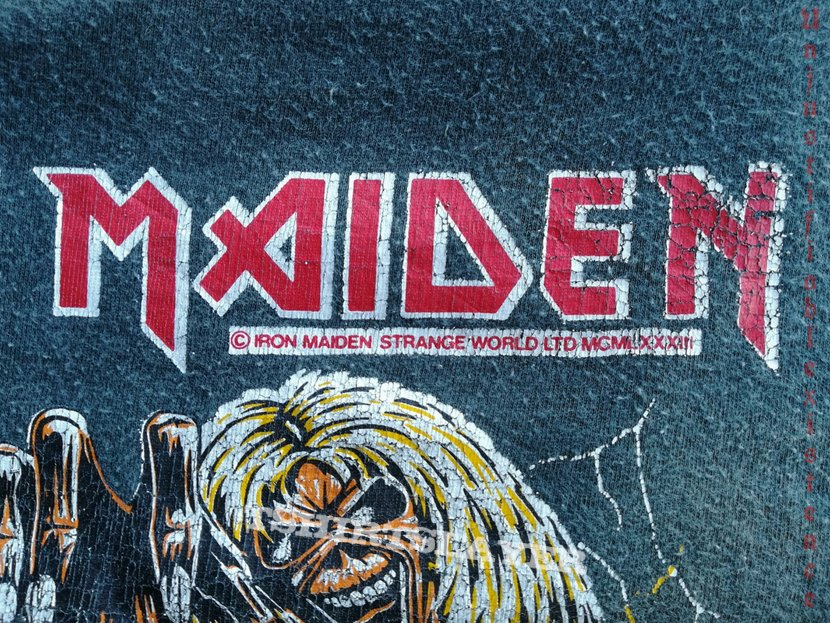 Iron Maiden - The Number Of The Beast 1983 Top