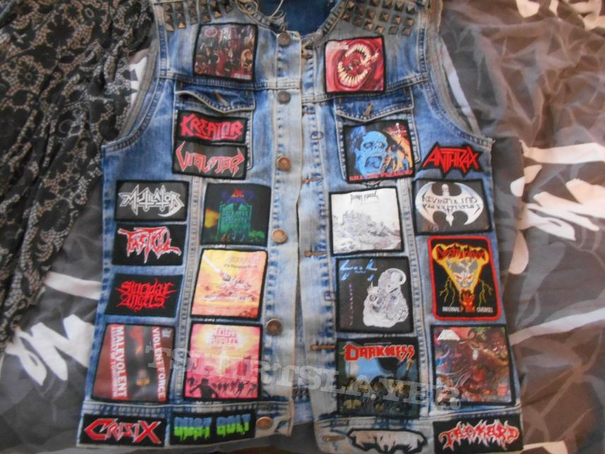 My Thrash metal Battle Jacket, final version !