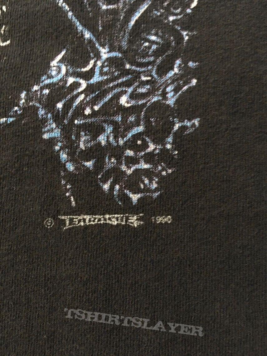 Original Vtg. 1990 Entombed Left Hand Patch  T-Shirt